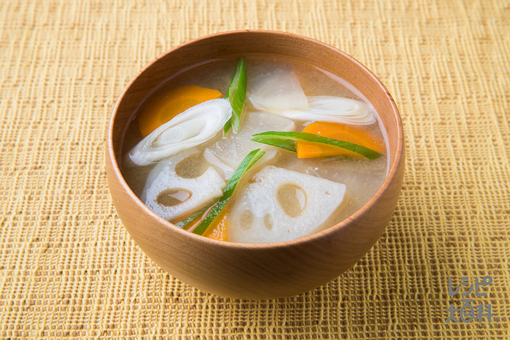 加賀の根菜みそ汁
